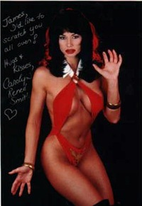 Carolyn as Vampirella
